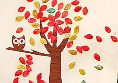 Дерево из семечек тыквы: Дерево из тыквенных семечек