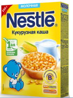 Каша нестле молочная кукурузная отзывы – Детское питание Nestle Кукурузная молочная каша