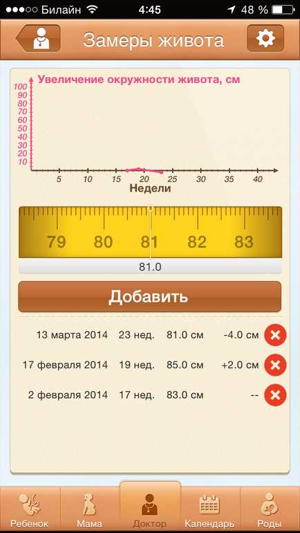 1e7359cb13ee Календарик, с отмеченными днями, когда предлагается посетить врача или  сдать анализы.